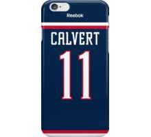Columbus Blue Jackets Matt Calvert Jersey Back Phone Case iPhone Case/Skin