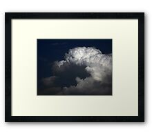 ©HCS May Clouds IA. Framed Print