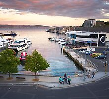 Sullivans Cove, Hobart, Tasmania by Roger Barnes