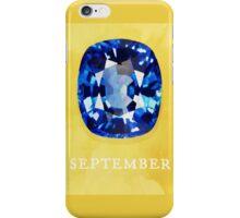 Watercolor Birthstone Gems, September iPhone Case/Skin