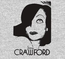 Joan Crawford Contrast Art by juser