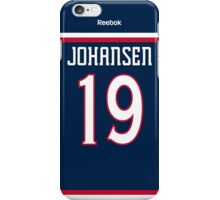 Columbus Blue Jackets Ryan Johansen Jersey Back Phone Case iPhone Case/Skin