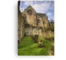 Church and Abbey Canvas Print
