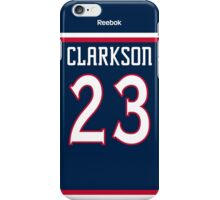 Columbus Blue Jackets David Clarkson Jersey Back Phone Case iPhone Case/Skin