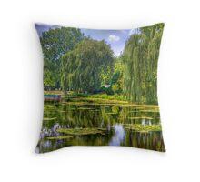 Lakeside Park Lagoon-3 Throw Pillow