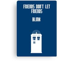 Friends Series - Doctor Who Canvas Print