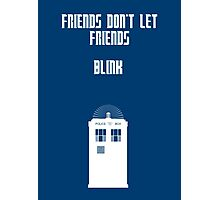 Friends Series - Doctor Who Photographic Print