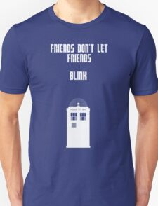 Friends Series - Doctor Who Unisex T-Shirt