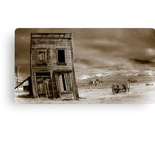 The last place in town Canvas Print
