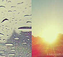 It takes both rain and sunshine to make a rainbow by Th3rd World Order
