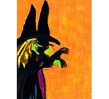WITCH AND HER SHADOW Photographic Print