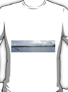 Waterworks on the River Foyle, Derry, Ireland T-Shirt