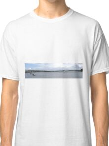 Waterworks on the River Foyle, Derry, Ireland Classic T-Shirt