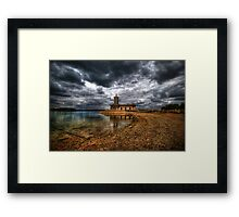 Beyond The Bend Framed Print