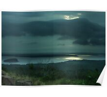 Stormy Bar Harbor Poster