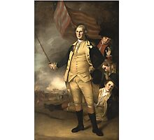 General Washington at the Battle of Princeton  Photographic Print