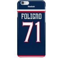 Columbus Blue Jackets Nick Foligno Jersey Back Phone Case iPhone Case/Skin
