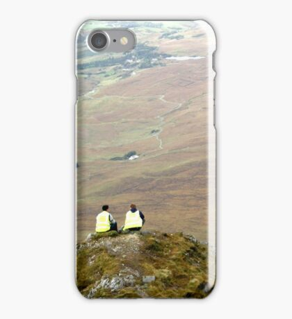 Mountain People iPhone Case/Skin