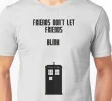 Friends Series - Doctor Who: Inverted Unisex T-Shirt