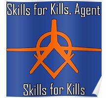 Crackdown - Skills for Kills Poster