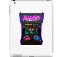 kung fury arcade videogame streets of rage sega retro 80s vintage iPad Case/Skin