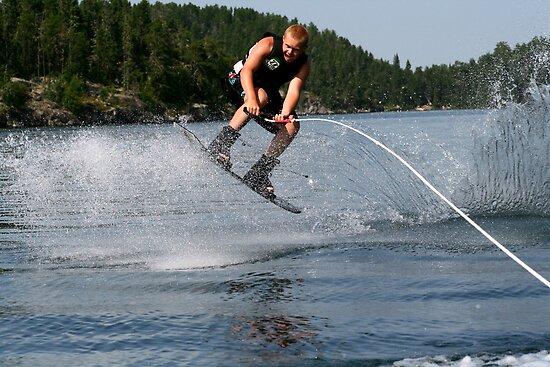 Wakeboarding by Larry Trupp