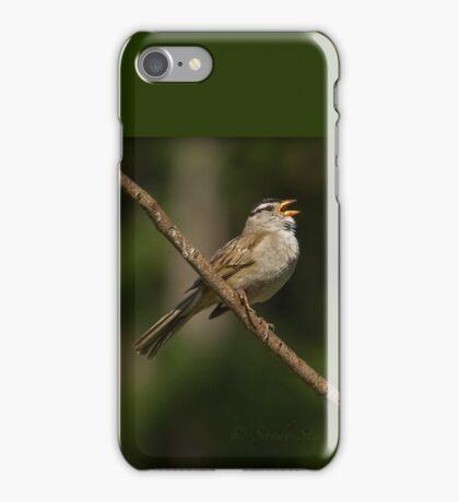 SINGING SONGBIRD iPhone Case/Skin