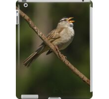 SINGING SONGBIRD iPad Case/Skin
