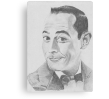 Pee Wee Herman Canvas Print