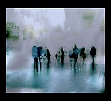 Obscured Mood: People as Abstraction by rob castro