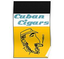Cuban Cigars Poster