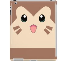 Furret Face Design iPad Case/Skin