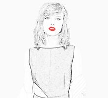 Taylor Swift red lips Unisex T-Shirt