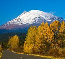 Mount Adams in Autumn by RavenFalls