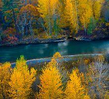 Autumn on the Klickitat by RavenFalls