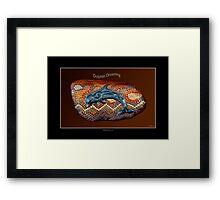 """Dolphin Dreaming"" Framed Print"