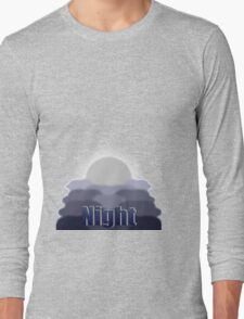 Day to Night (Night) Long Sleeve T-Shirt