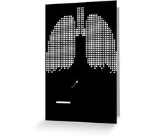 Pixel Lungs Greeting Card