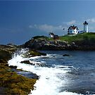 The Nubble at Noon by Lori Deiter