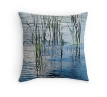 Reed Reflections #1 Throw Pillow