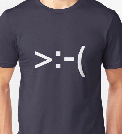 Emoticons - Mad Unisex T-Shirt