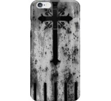 Pere Lachaise Cross iPhone Case/Skin