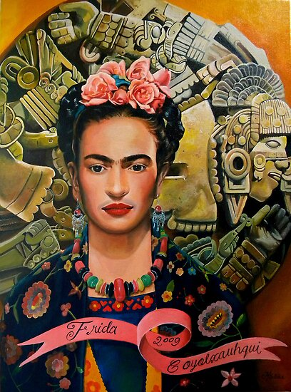 Frida Coyolxauhqui by Jorge H. Elias