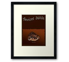PLATYPUS PATHS Framed Print