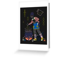 Witch Series: Cauldron Greeting Card