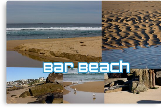 Bar Beach by reflector