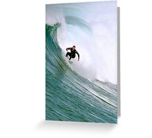 Surfer And Surf 110810a Greeting Card