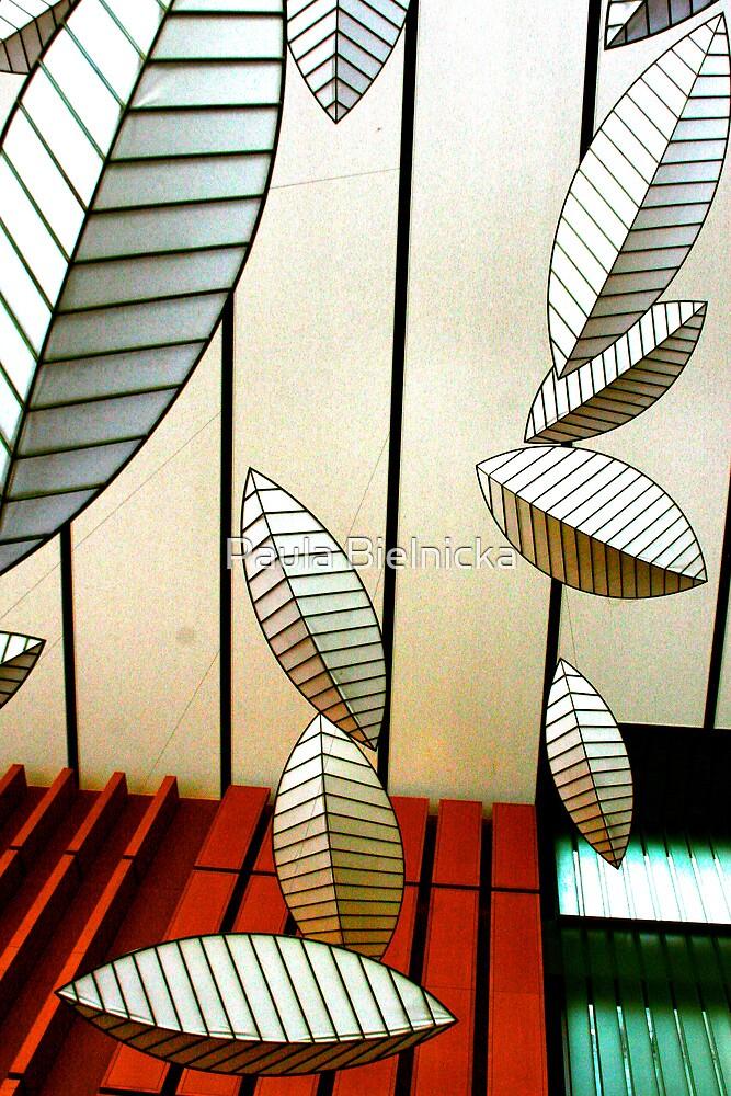 Geometric Leaves by Paula Bielnicka
