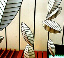 Geometric Leaves by Paula Bielnicka
