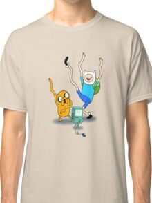 Finn, Jake & BMO Dancing Classic T-Shirt